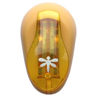 Дырокол фигурный Hobbyboom Стрекоза, №38, цвет в ассортименте, 1 см фигурный дырокол craft premier василек с объемной вырубкой cp03658