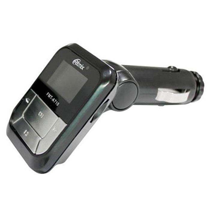 Ritmix FMT-A710 автомобильный FM-модулятор ritmix fmt a745 black fm модулятор