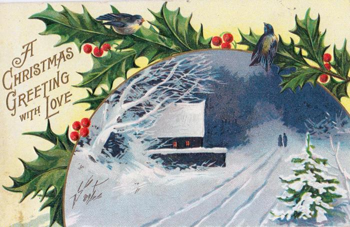 Эстонские рождественские открытки