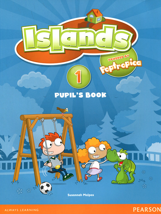 Islands Level 1 Pupil's Book Plus Pin Code (+ наклейки) islands level 3 pupil s book access code