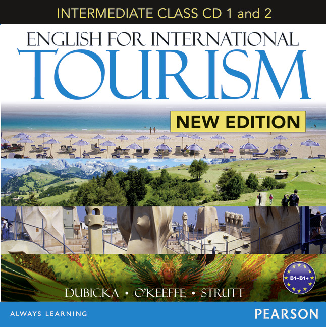 English for International Tourism: Intermediate Class (аудиокнига на 2 CD) achieve ielts 2 english for international education cd rom