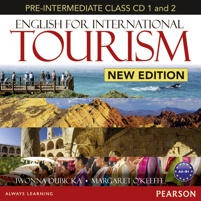 English for International Tourism New Edition: Pre-Intermediate: Class CD (аудиокурс на 2 CD) first trainer audio cds аудиокурс на 4 cd