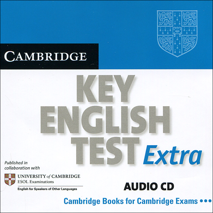 Cambridge Key English Test Extra (аудиокурс на CD) longman introductory course for the toefl test the paper test student book and cd rom with answer key