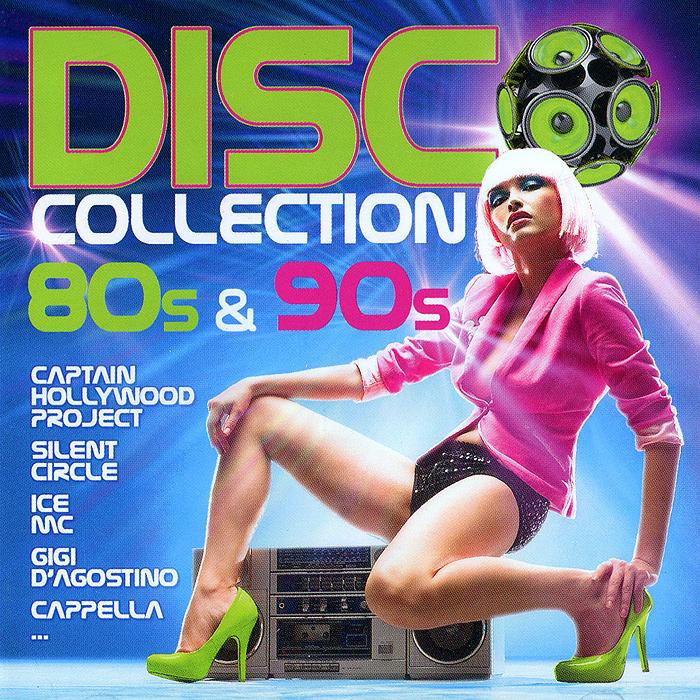 Disco Collection. 80s & 90s (2 CD) disco collection 80s