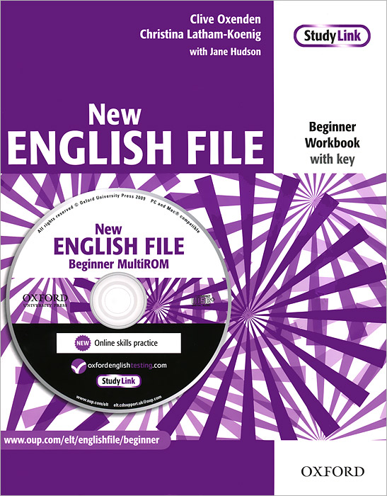 New English File: Beginner Workbook with Key (+ CD-ROM) total english workbook with key cd rom