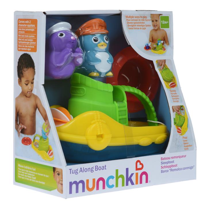 """Игровой набор для ванны Munchkin """"Веселая лодочка"""""""