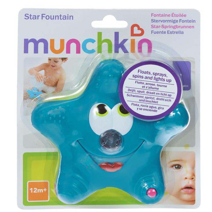 """Игрушка для ванны Munchkin """"Звездочка"""", цвет: синий, салатовый"""