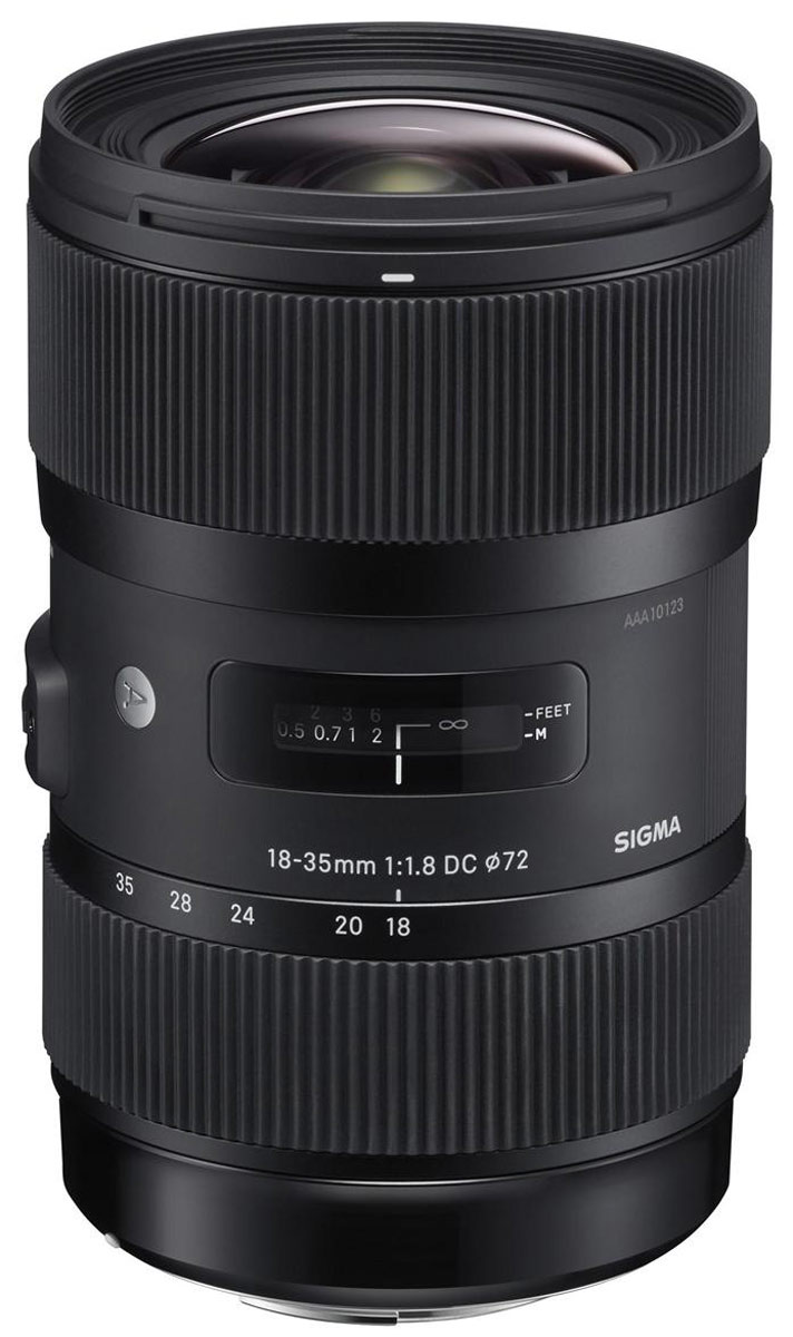 объектив sigma af 18-35mm f1,8 dc hsm, canon