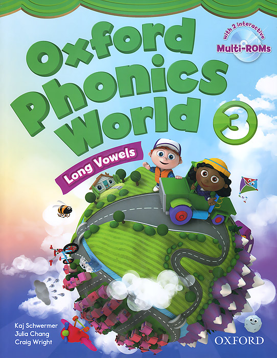 Oxford Phonics World 3: Student Book (+ 2 CD-ROM) oxford phonics world 1 the alphabet cd rom