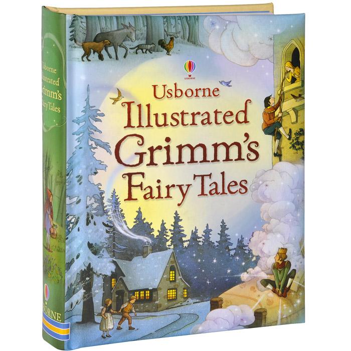 Usborne Illustrated Grimm's Fairy Tales rumpelstiltskin