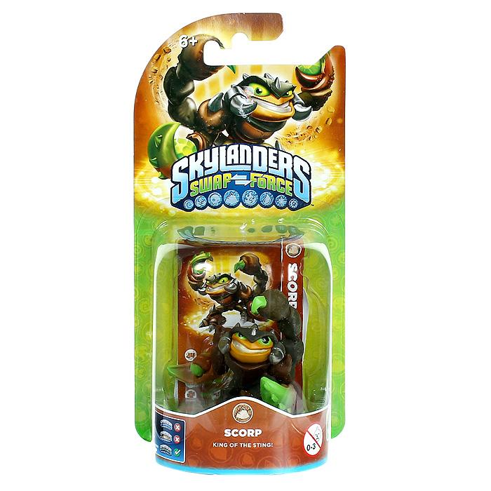 Skylanders Swap Force.Интерактивная фигурка Scorp Skylanders