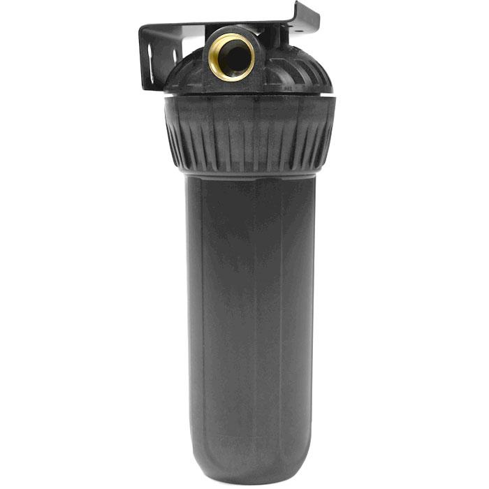"""Корпус фильтра Гейзер 10"""" х 3/4"""" для горячей воды, цвет: черный"""