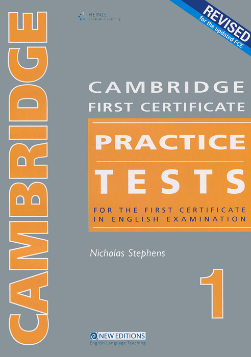 Cambridge First Certificate Practice Tests 1: Teacher's Book cambridge plays the pyjama party elt edition cambridge storybooks