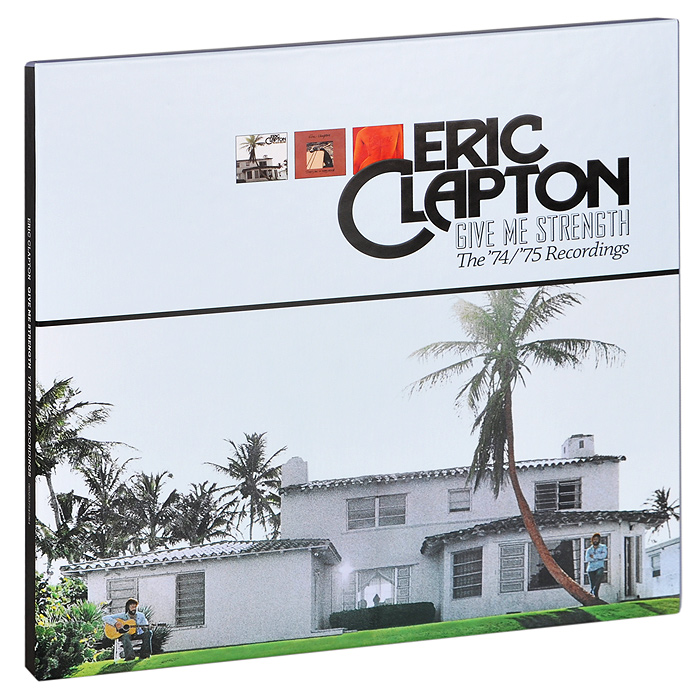 Эрик Клэптон Eric Clapton. Give Me Strength. The 74/75 Studio Recordings (3 LP)