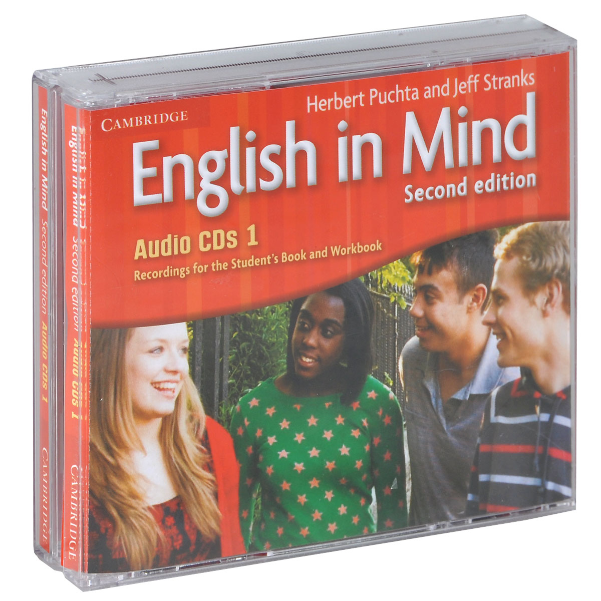 English in Mind: Level 1 (аудиокурс на 3 CD) john hughes life elementary workbook 2 cd