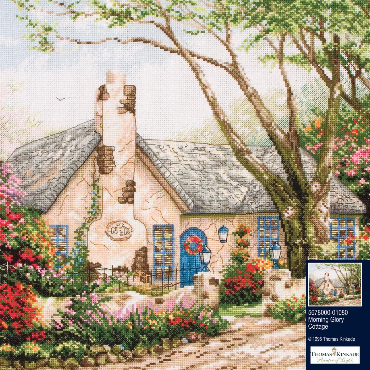 Набор для вышивания крестом Дом утреннего света, 27 х 34 см набор для вышивания крестом rto дом милый дом 34 х 27 см
