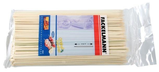Палочки-шампуры Fackelmann, бамбуковые, 18 см, 100 шт палочки для коктейля fackelmann сердце цвет синий желтый красный длина 18 см 10 шт