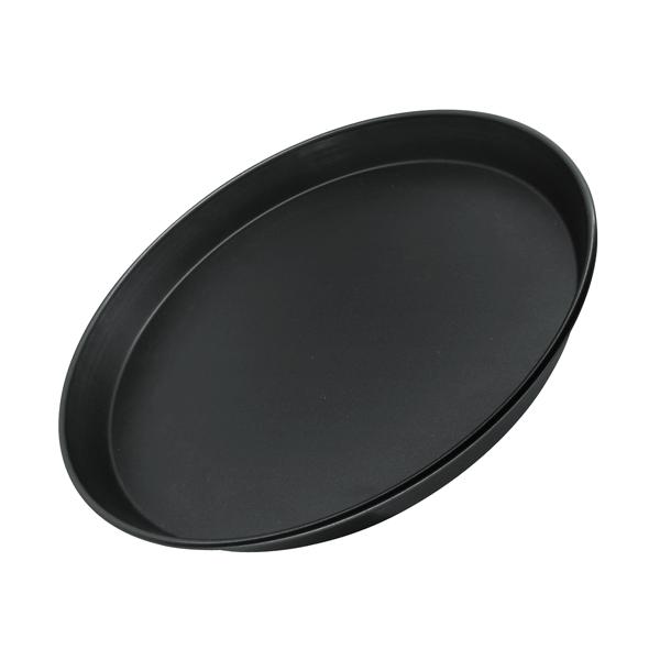 Форма для пиццы Zenker Black, цвет: черный, диаметр 30 см форма для пиццы dr oetker comfort круглая с антипригарным покрытием цвет серый диаметр 30 см