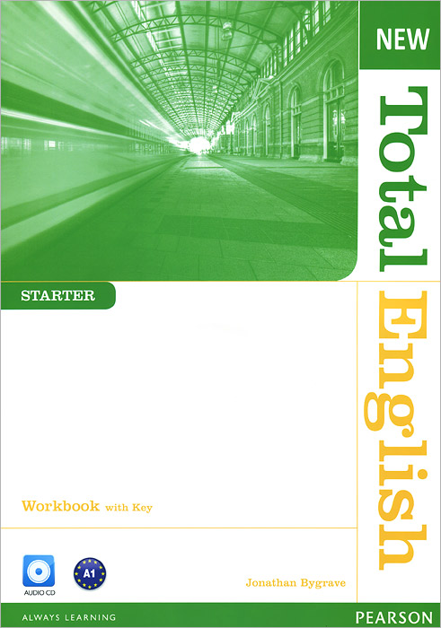 New Total English: Starter: Workbook with Key (+ CD) total english advanced workbook