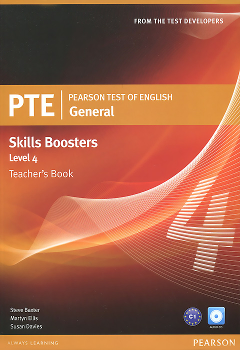 Pearson Test of English General Skills Booster 4: Teacher's Book (+ 2 CD) pte general skills booster level 2 student's book cd rom