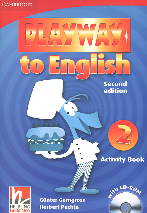 Playway to English: Level 2: Activity Book (+ CD-ROM) playway to english level 2 cards pack