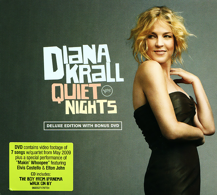 Дайана Кролл Diana Krall. Quiet Nights. Deluxe Edition (CD + DVD) fredi leis madrid