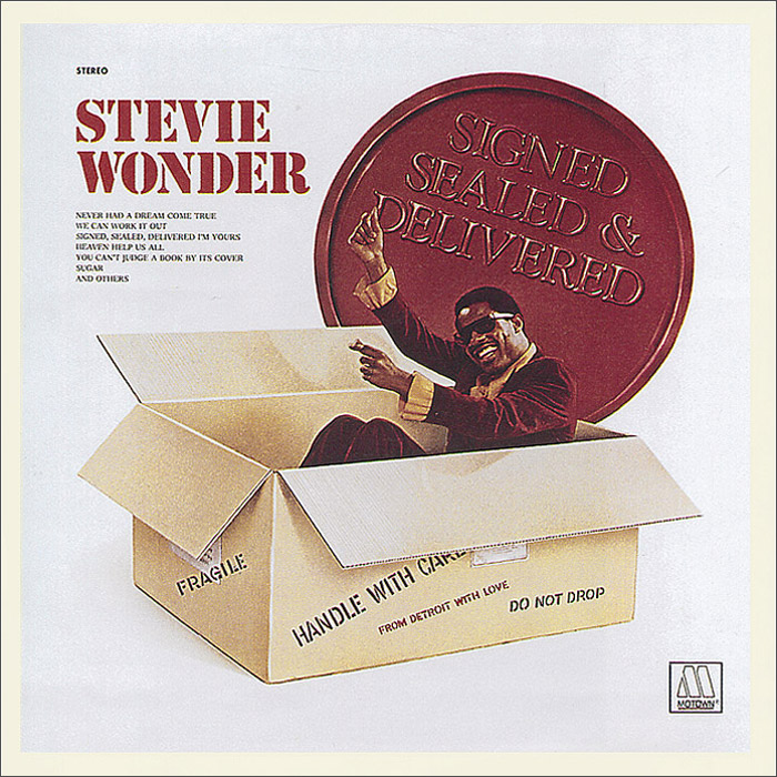Стиви Уандер Stevie Wonder. Signed, Sealed And Delivered цена и фото