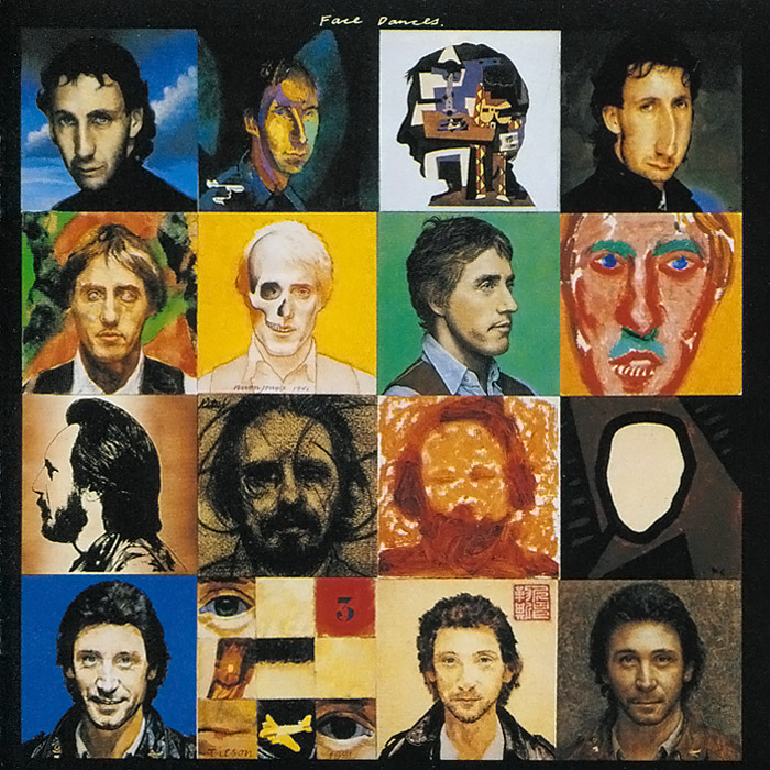 The Who The Who. Face Dances who who the who sell out