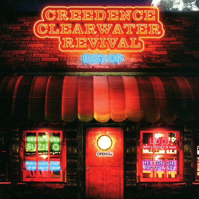 Creedence Clearwater Revival Creedence Clearwater Revival. Best Of (2 CD) creedence clearwater revival creedence clearwater revival the complete studio albums 7 lp 180 gr