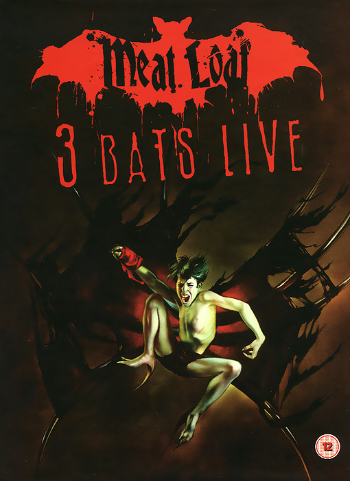 Meat Loaf: 3 Bats Live - Deluxe Edition (2 DVD) мит лоуф meat loaf bat out of hell ii back into hell