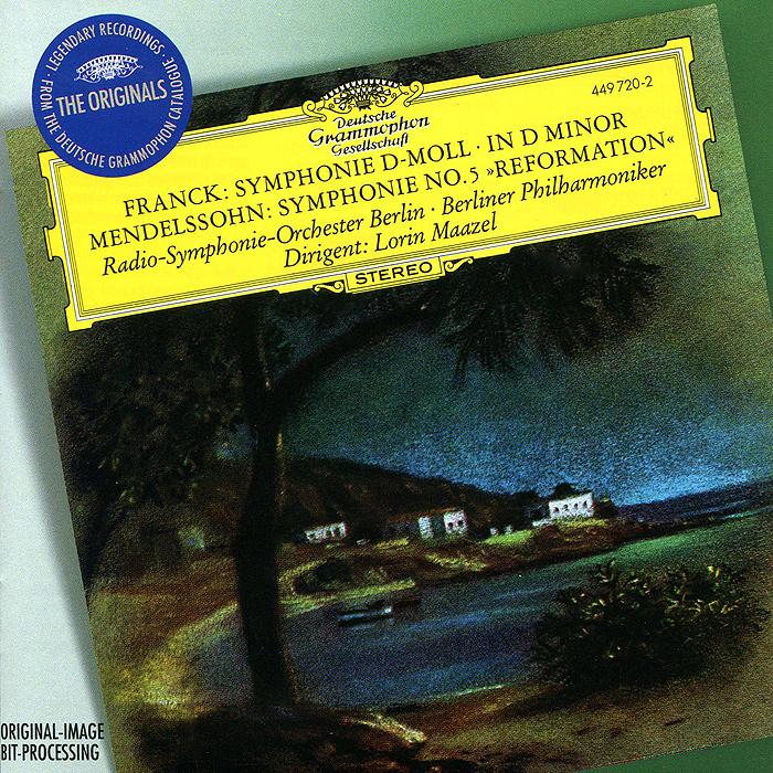Лорин Маазель Lorin Maazel. Franck. Symphonie D-Moll / Mendelssohn Bartholdy. Symphonie No. 5 D-Dur Op. 107 г форе ноктюрн no 12 op 107 nocturne no 12 op 107