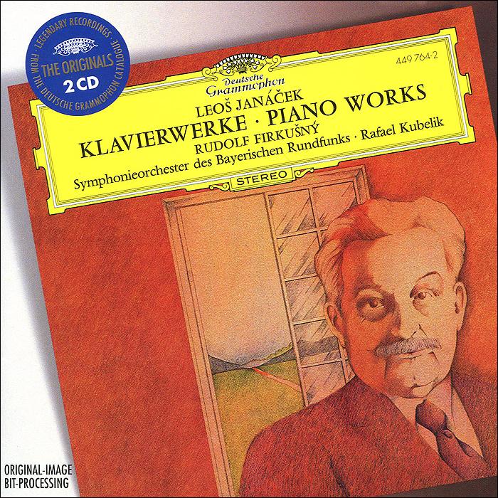 Рафаэль Кубелик,Рудольф Фиркасни Rudolf Firkusny, Rafael Kubelik. Janacek. Piano Works (2 CD) rafael