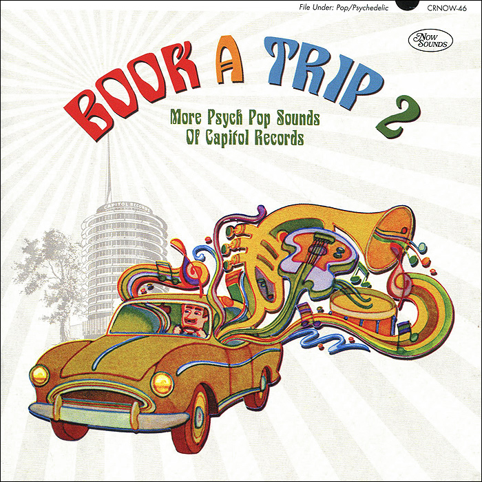 Book A Trip 2. More Psych Pop Sounds Of Capitol Records