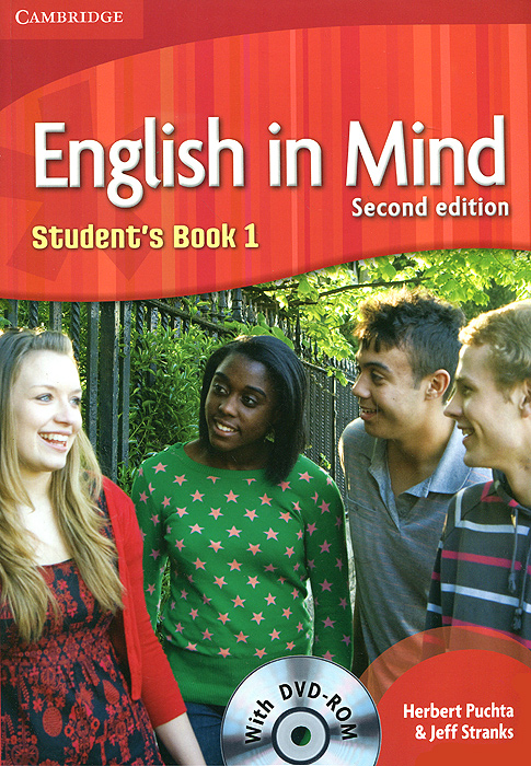 English in Mind: Level 1: Student's Book (+ DVD-ROM) english in mind level 2 students book dvd rom