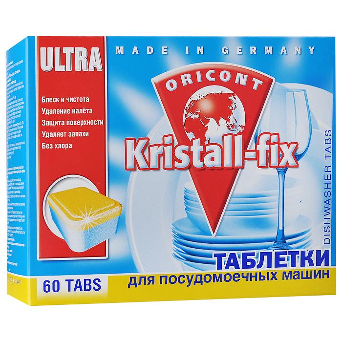 Таблетки для ПММ Kristall-fix, 60 шт х 20 г Kristall-fix