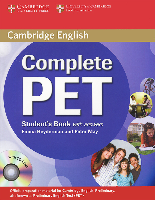 Complete PET: Student's Book with Answers (+ CD-ROM) objective advanced student s book without answers cd