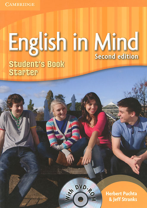 English in Mind: Starter Level: Student's Book (+ DVD-ROM) english in mind level 2 students book dvd rom