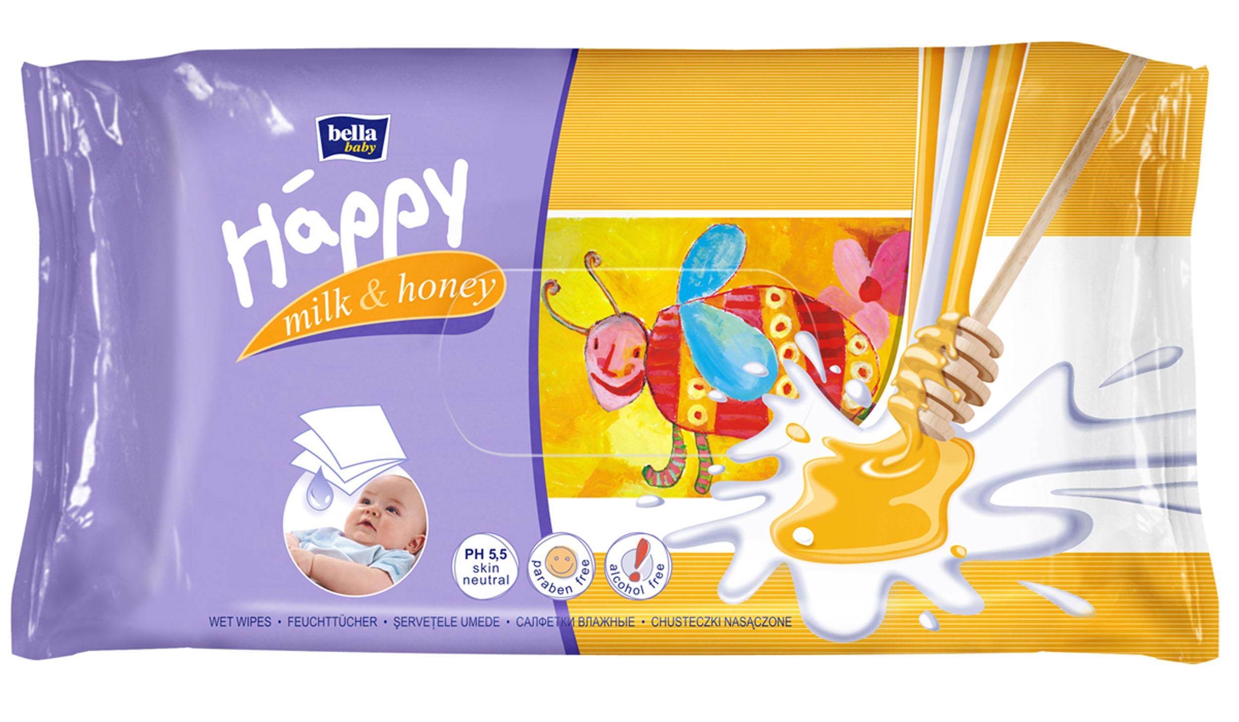цены на Bella Влажные салфетки Baby Happy