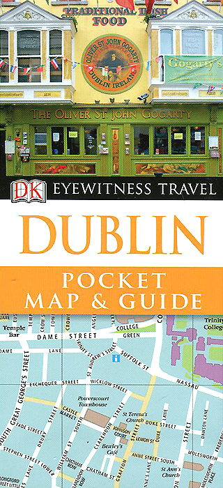 Dublin: Pocket Map and Guide prague pocket map