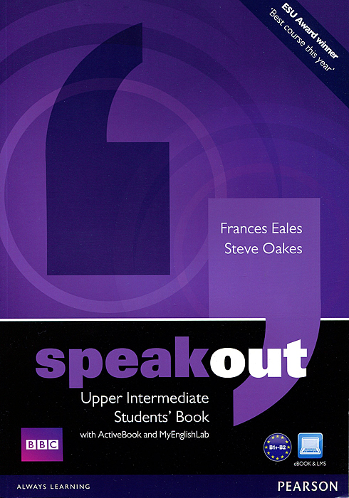 Speakout: Upper-Intermediate: Student's Book with ActiveBook and MyEnglishLab (+ DVD-ROM) speakout starter student s book dvd