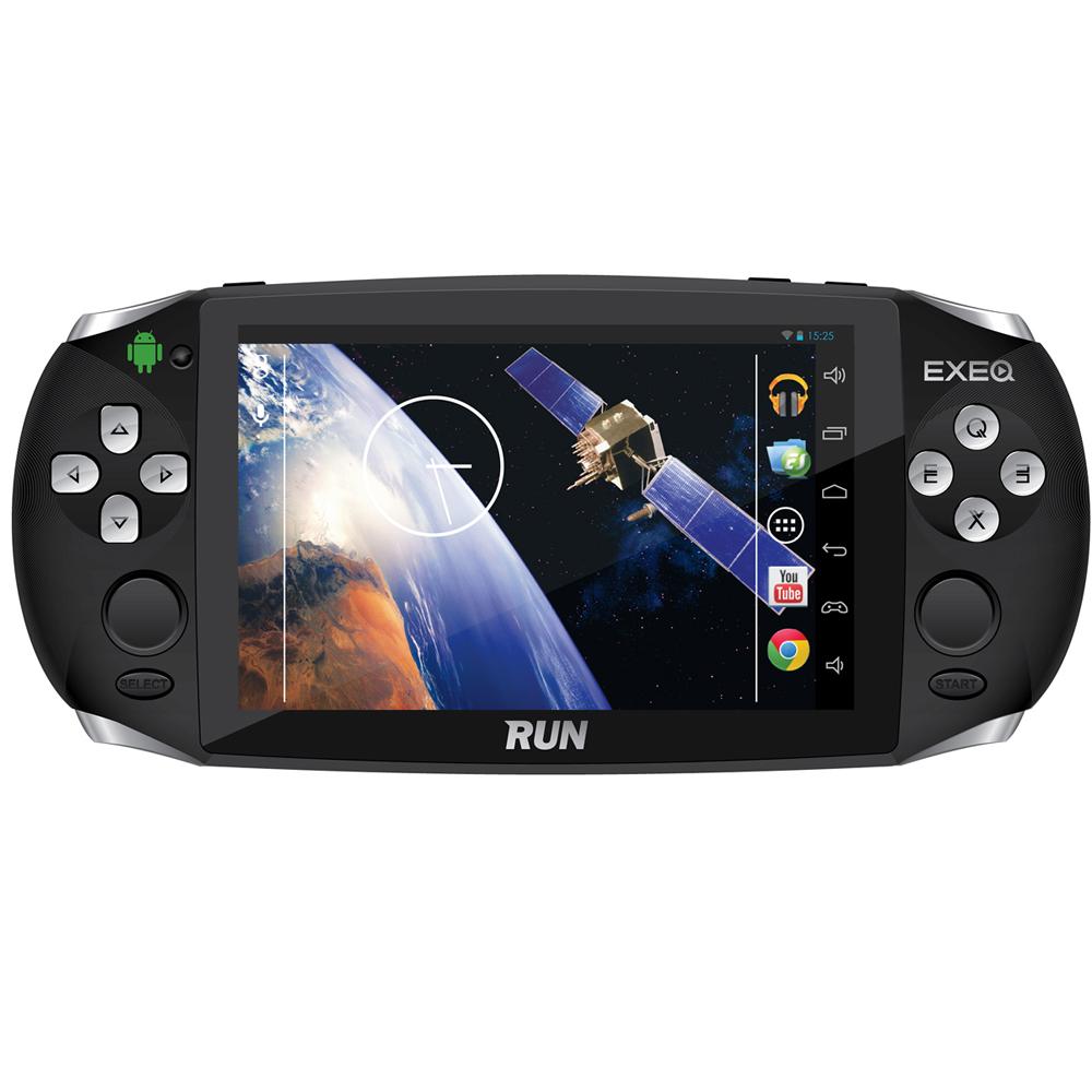 e9e28b6aaf0ec Портативная игровая консоль EXEQ RUN (черная) — купить в интернет-магазине  OZON с быстрой доставкой