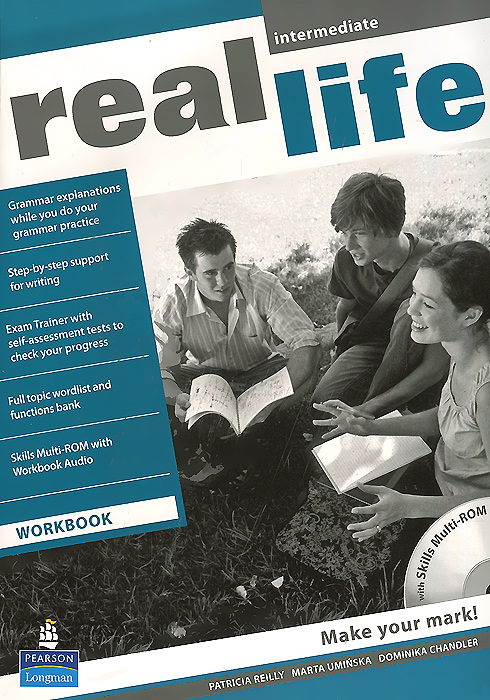 Real Life Intermediate: Workbook (+ CD-ROM) the challenge and real lives video workbook