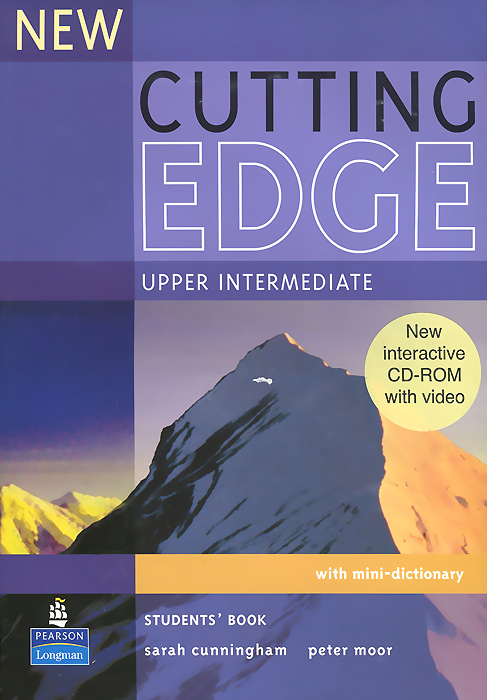 New Cutting Edge: Upper-Intermediate: Student's Book (+CD-ROM) j redmerski a the edge of never the edge of always 2 book collection