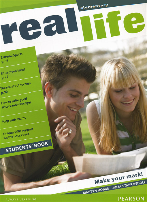 Real Life Elementary: Student's Book the challenge and real lives video workbook
