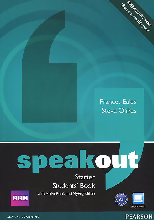 Speakout: Starter: Student's Book with Active Book and My English Lab speakout starter student s book dvd