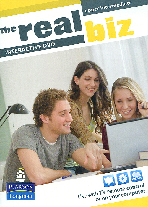 The Real Biz: Upper Intermediate: Interactive DVD real life elementary interactive dvd