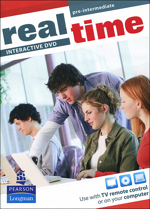 Real Time: Pre-Intermediate: Interactive DVD real life elementary interactive dvd