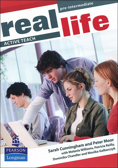 Real Life: Pre-Intermediate: Active Teach аксессуар для техники по подготовке и обработке продуктов bosch muz 5 er2 00572475