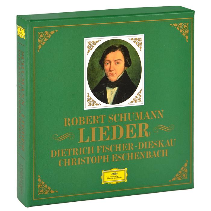 Дитрих Фишер-Дискау,Кристоф Эшенбах Dietrich Fischer-Dieskau. Schumann. Lieder (6 CD) дитрих фишер дискау кристоф эшенбах dietrich fischer dieskau schumann lieder 6 cd