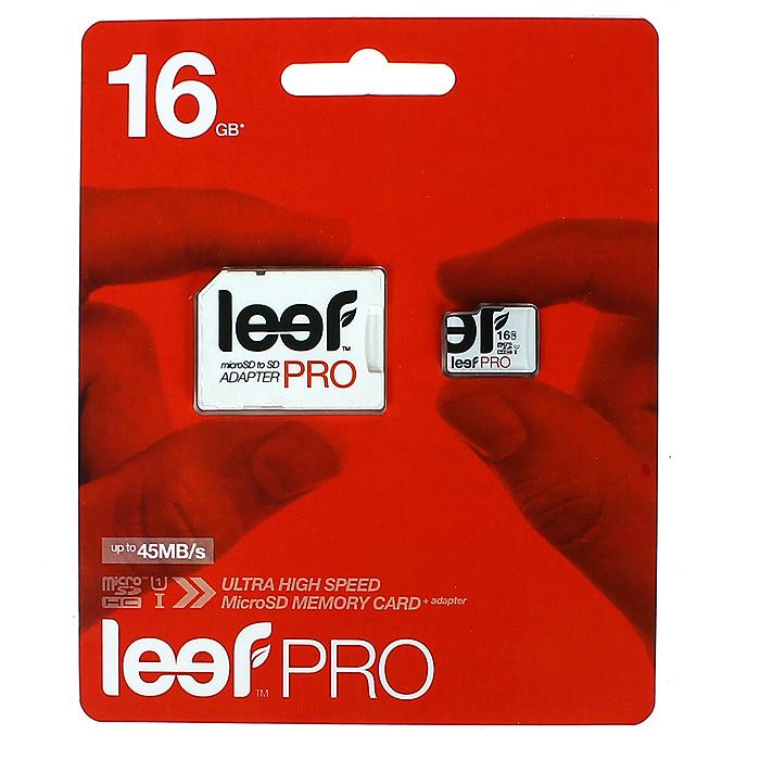 Leef PRO microSDHC 16GB карта памяти